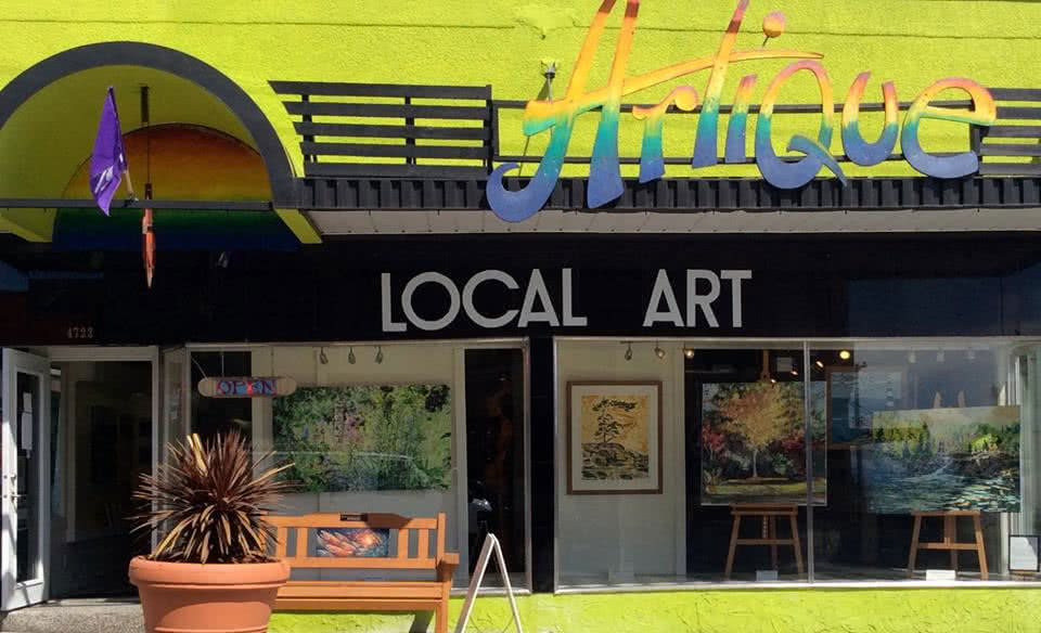 "A local artist co-operatove in Powell River: ""Artique - Local Art"""