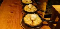 A creative dessert at the Cabana Cafe