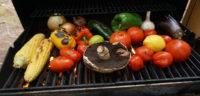 Fresh vegetables on the BBQ