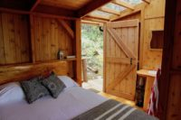Our cabanas are all made from locally milled Douglas Fir and Western Red Cedar